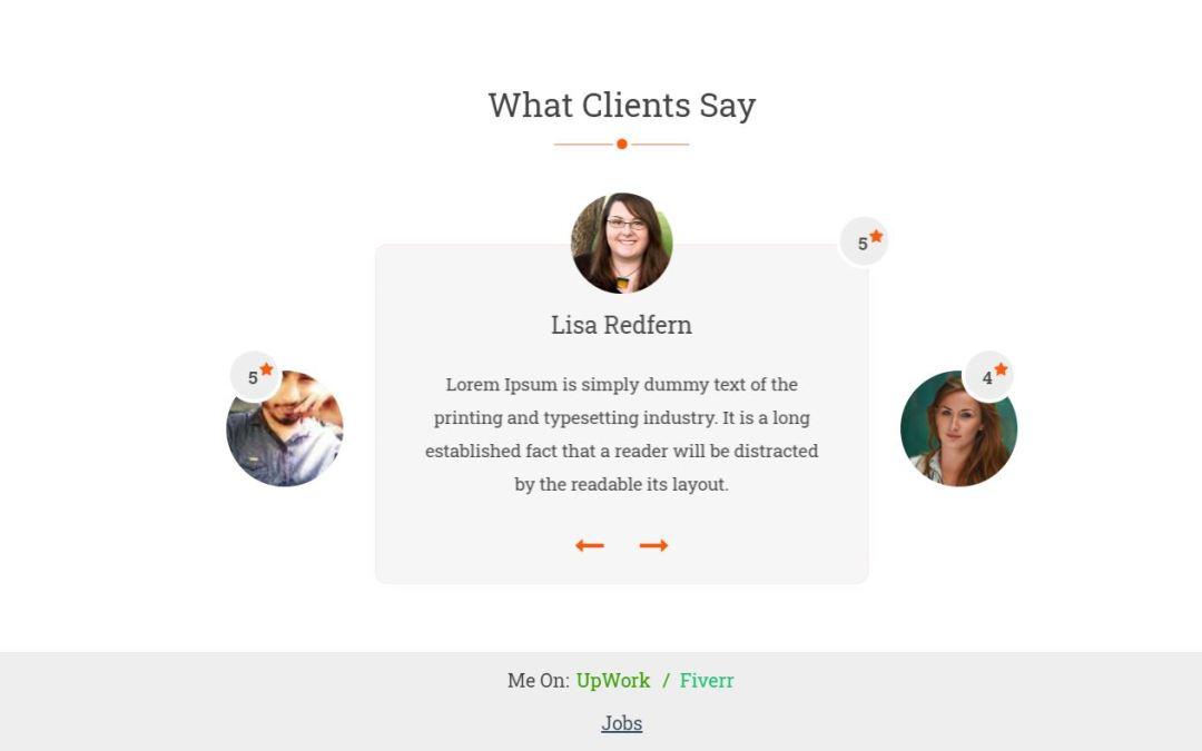 16+ Bootstrap Testimonial Slider Design Examples