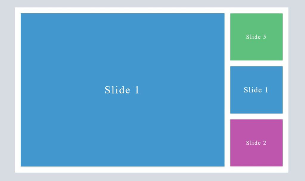 Simple swiper JavaScript slideshow example