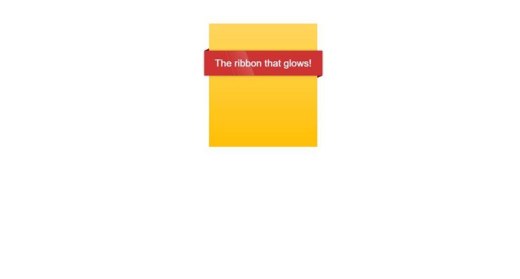 Glow Ribbon