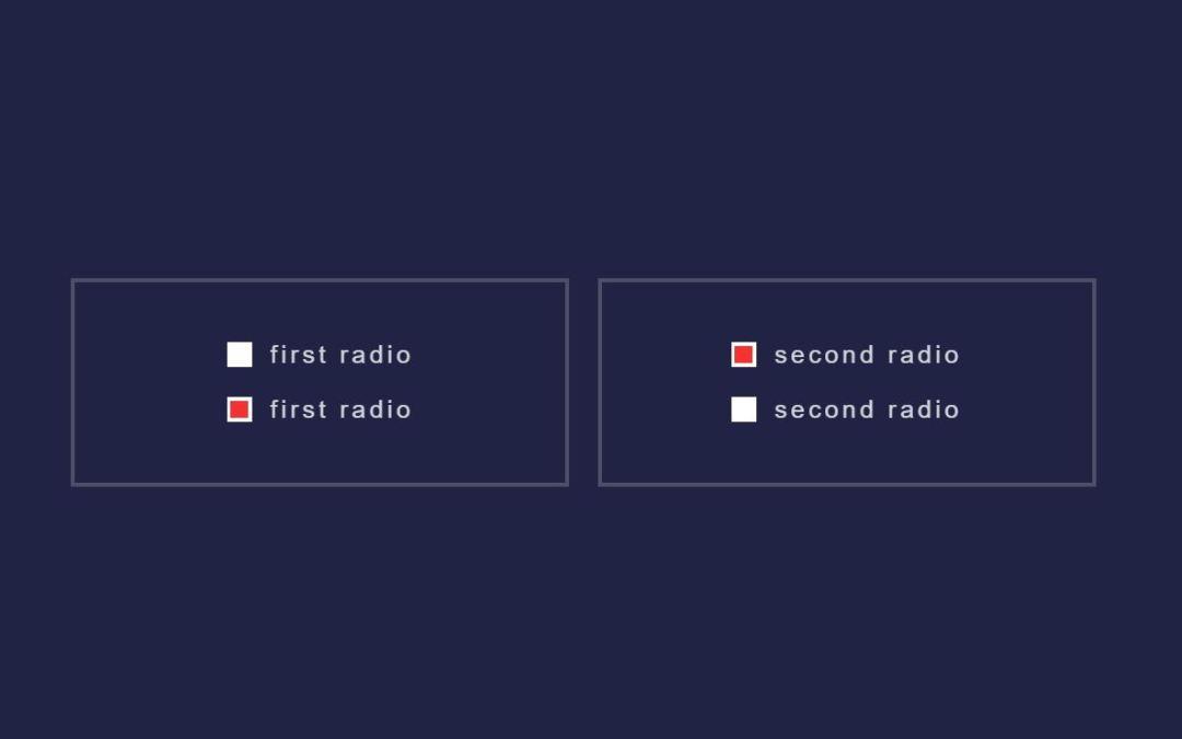 15+ JavaScript Radio Button Design Examples
