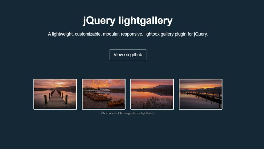 JS photo/Image gallery