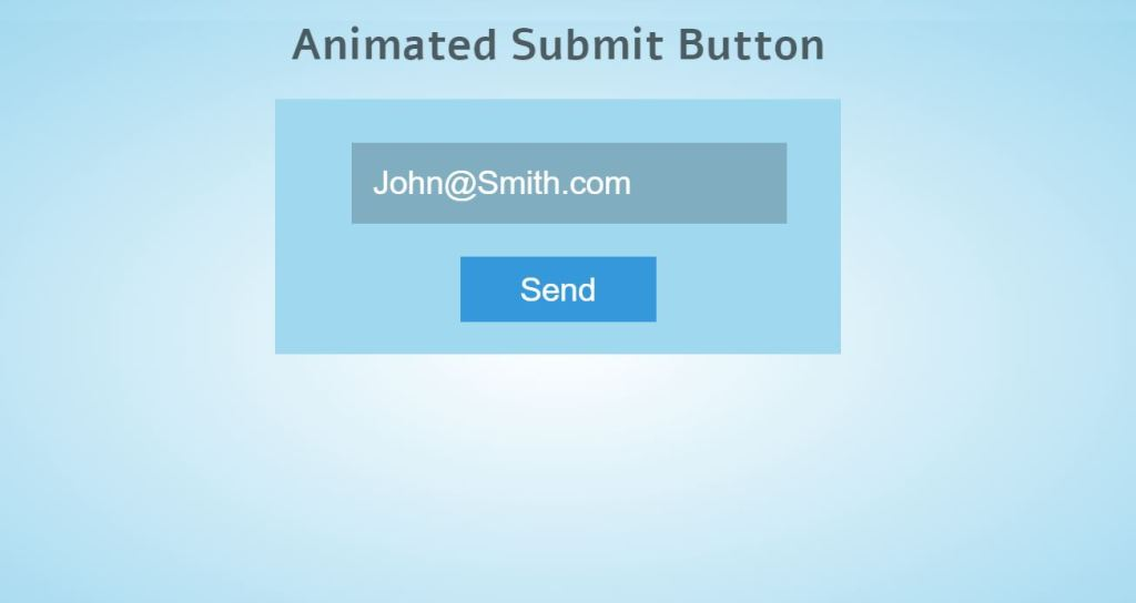 Animated Form SubmitButton