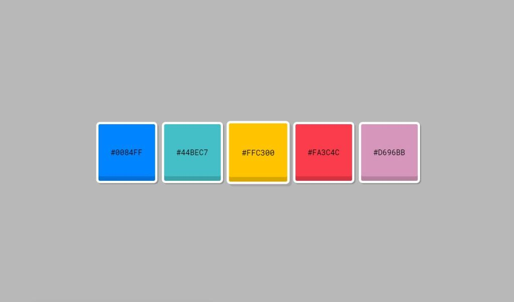 JavaScript/JS Auto Color Palette