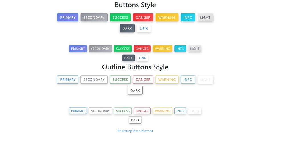 Bootstrap 4 Gradients Buttons Animate