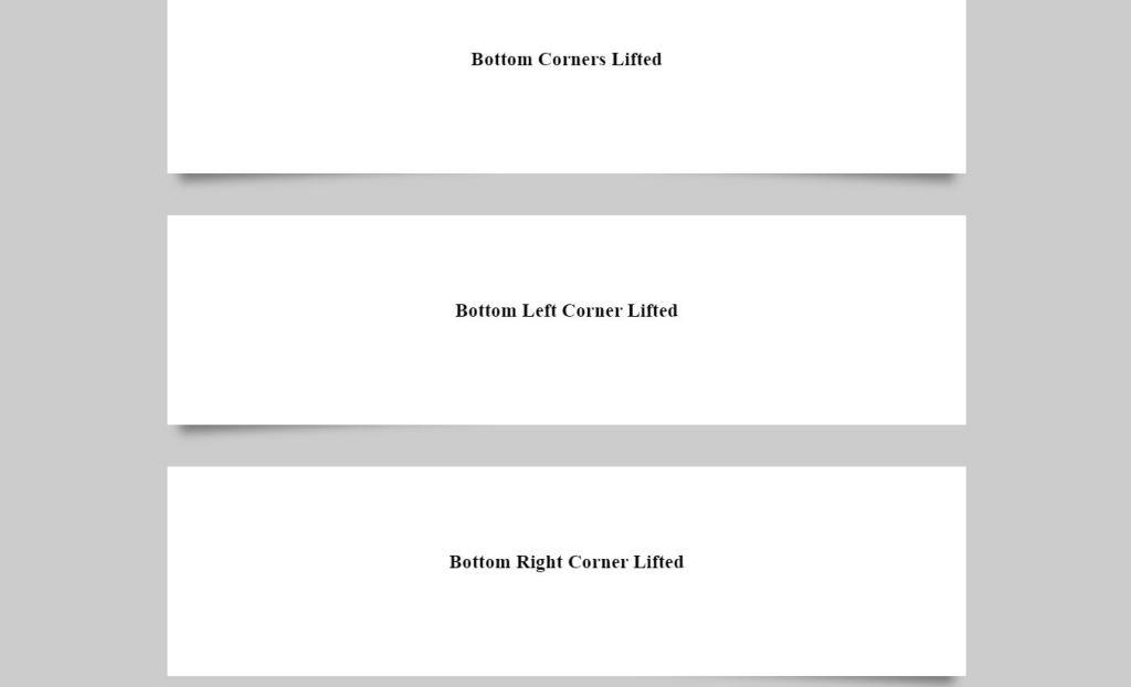 CSS BoxShadow For Web Designer