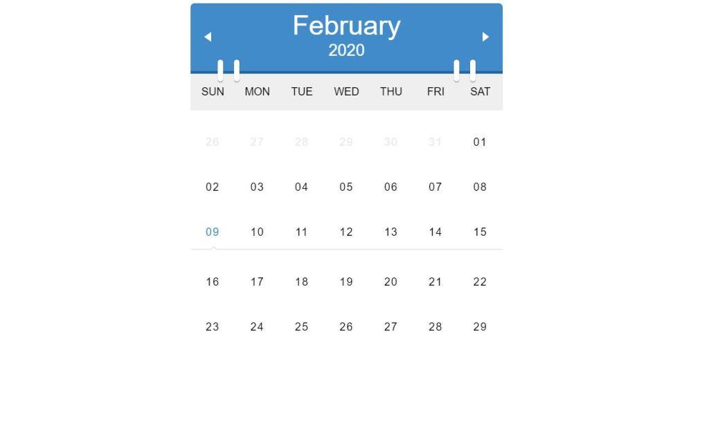 Clean Calendars