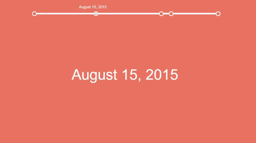 JavaScript/JS Horizontal Timeline Inspired