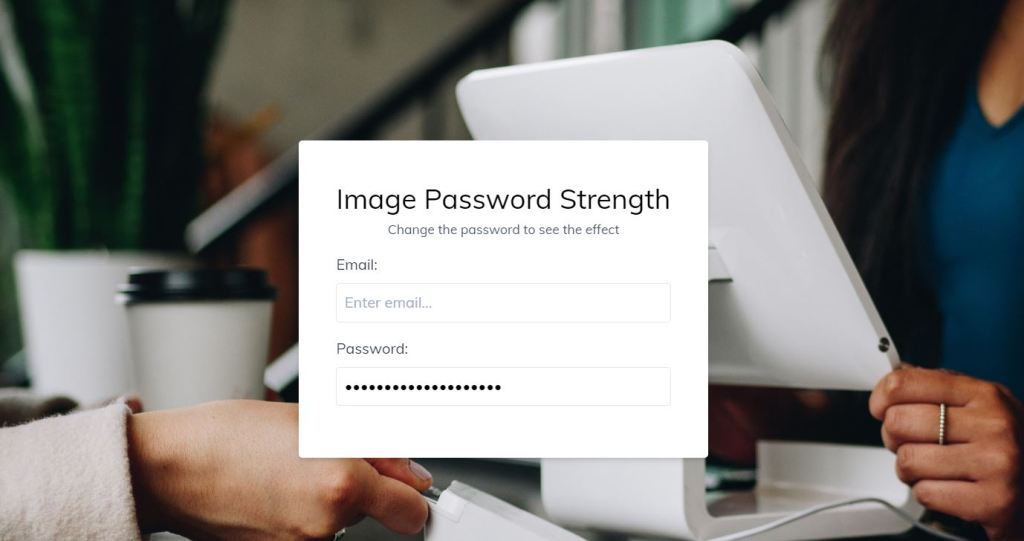Image Password Strength