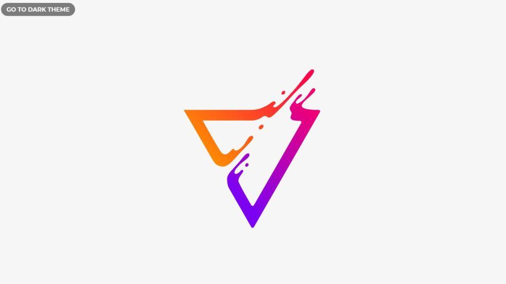 Liquid effect JavaScript/JS Triangle