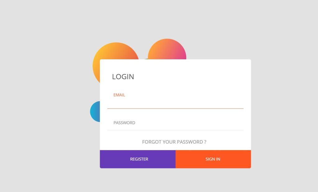 Log In Form UI Design
