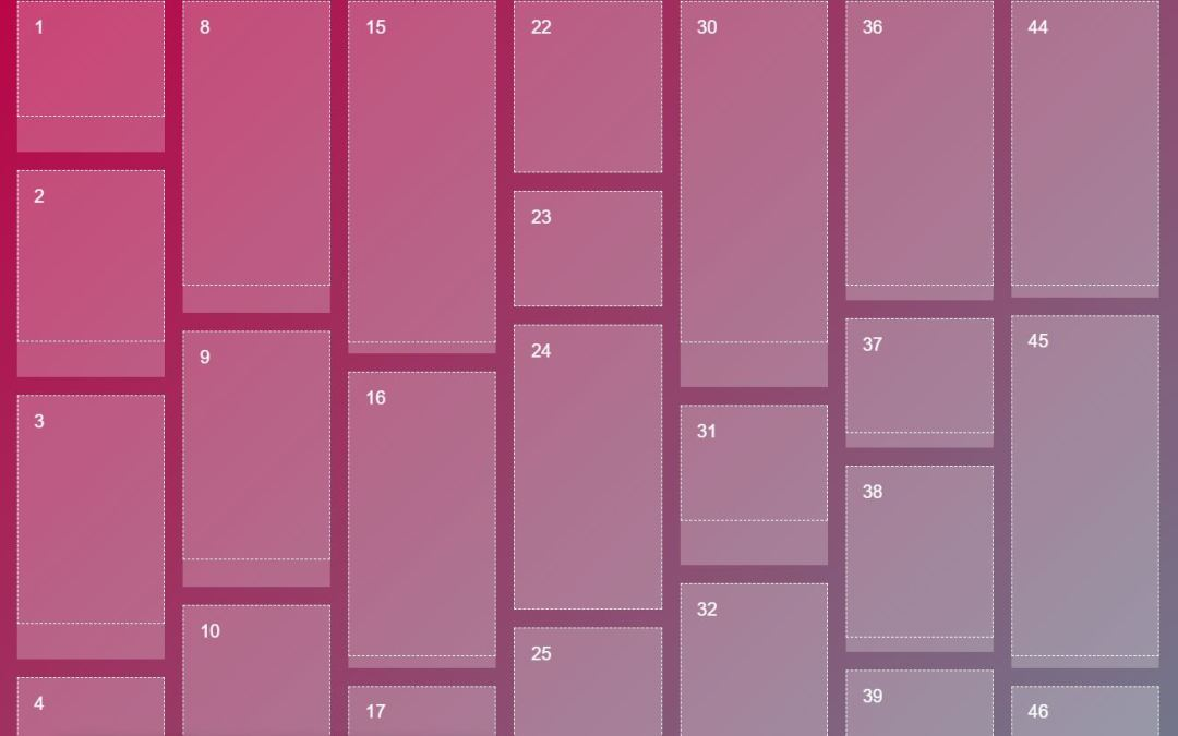 30+ JavaScript Masonry Layout Design Examples