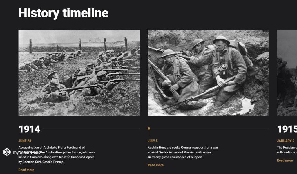 Responsive JavaScript Timelines