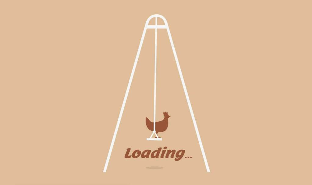 Loading Chicken Swing SVG