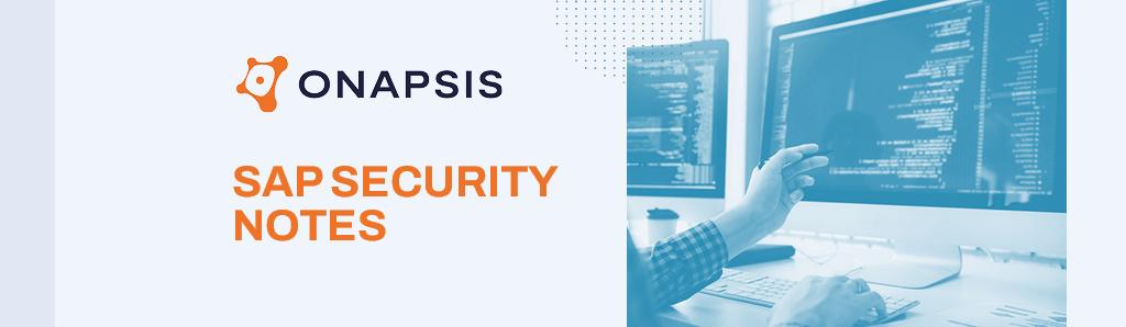 Sap Security Notes