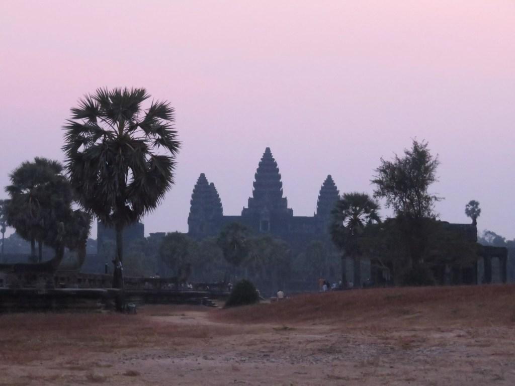 Sunrise, Angor Wat, Cambodia