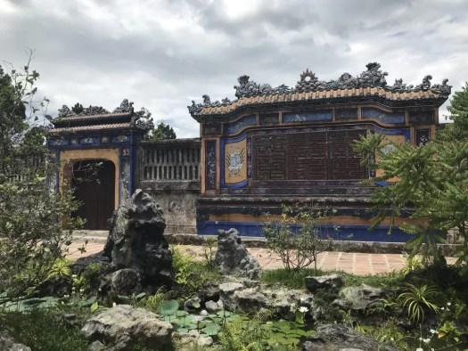 Ruins in Hue Imperial City