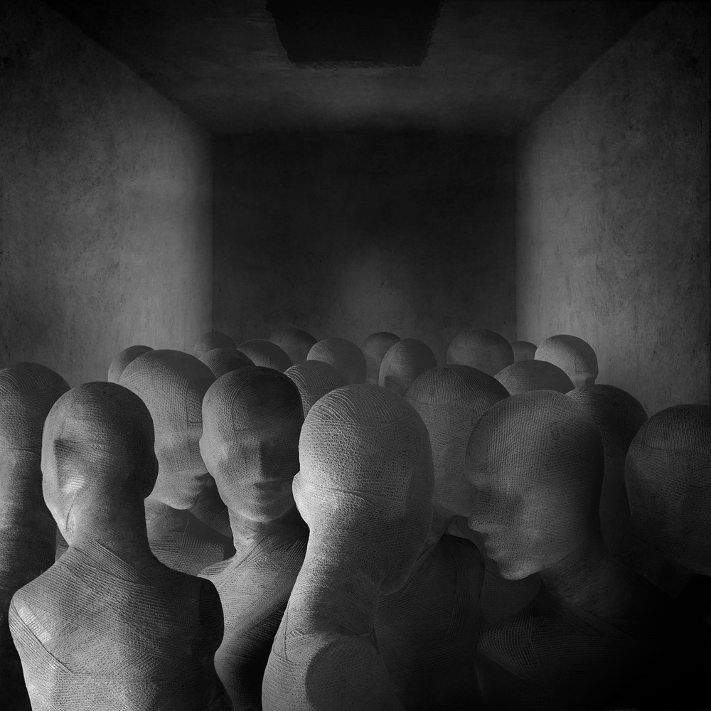 Labyrinths and Loneliness: The Photomontages of Marcin Sacha