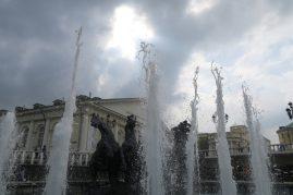 Fontaine dans le Jardin d'alexandre