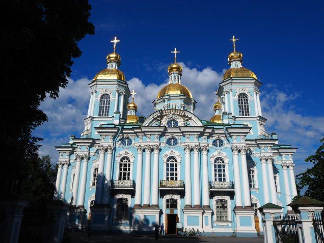 Cathédrale Saint Nicolas des marins - Saint Petersbourg