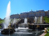 Palais de Peterhof - Saint Petersbourg