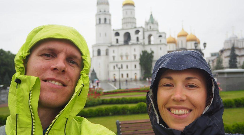 Selfie à l'intérieur du Kremlin