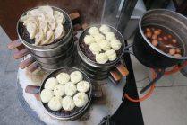 Assortiment de dumplings pour le petit déj