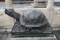 Sculpture de tortue
