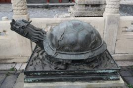 Sculpture de tortue