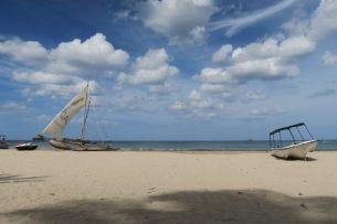 La plage d'Uppuvelli