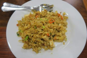 Kottu rotti aux légumes