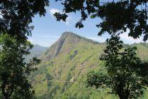 Vue durant l'ascension du Little Adam's Peak