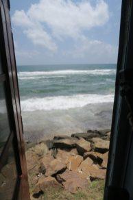 L'océan depuis le train
