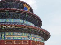 Temple du ciel, hall des prières pour la récolte, détail de la toiture