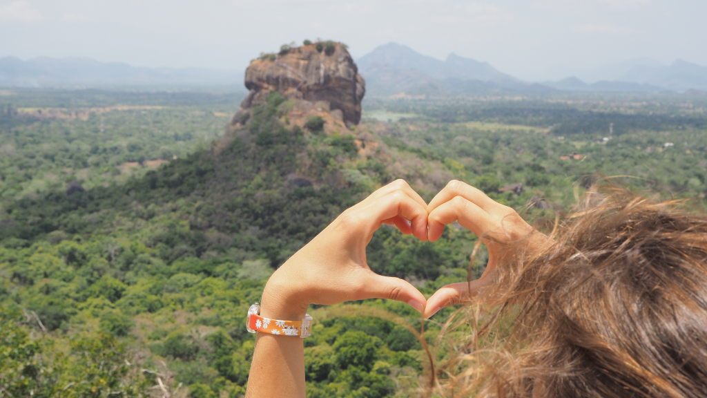 Elise loves the Lion's rock