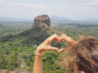 Elise loves the Lion's rock