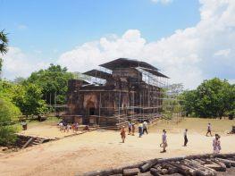 Vue sur le temple Thuparama