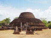 La stupa de Pabalu Vihara