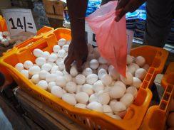Vendeur d'œufs - Marché de Kandy