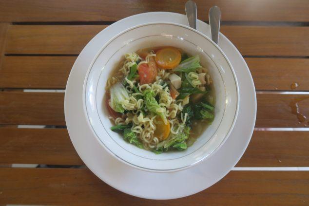 Soupe de Nouilles au poulet