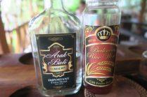 Alcools locaux : Arak et vin