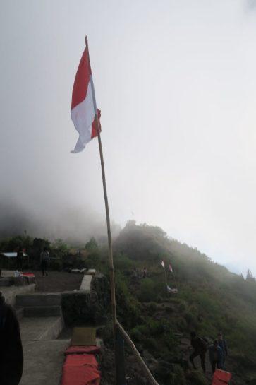 Le drapeau indonésien