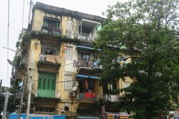 Les facades de la ville