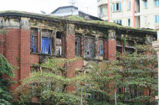 Batiment décrépi, Yangon
