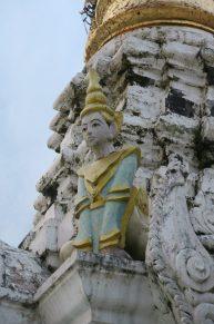 Détail d'une sculpture sur une pagode
