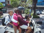 Le scooter, principal moyen de locomotion