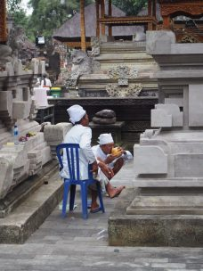 Des moines font la pause