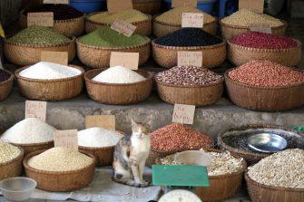 Epices près du marché de Dong Xuan