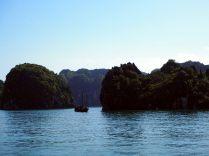 """Les paysages """"karstiques"""" de la baie"""