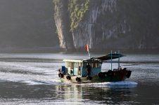 Un bateau de passage