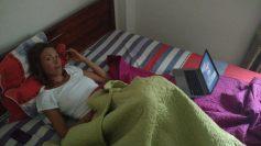 A Ha Giang, dans la chambre d'hotel...